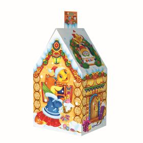 "Подарочная коробка ""Колобок"", домик малый, сборная, 7 х 9 х 15 см"