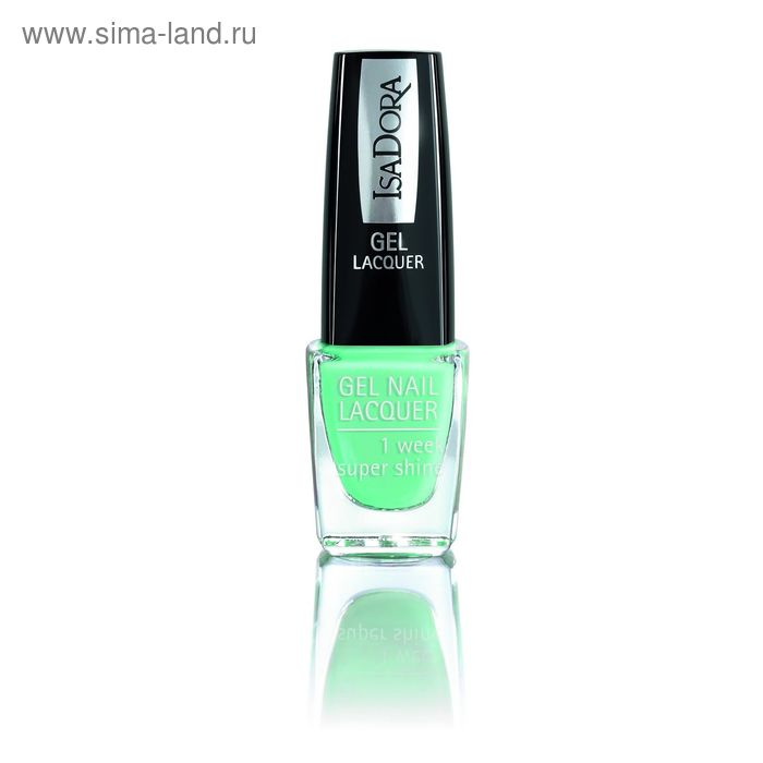 Лак для ногтей гелевый IsaDora Gel Nail Lacquer, тон 252, 6 мл