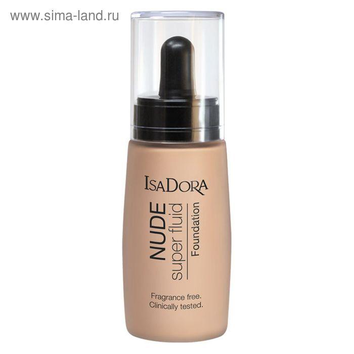Тональный флюид для лица IsaDora Nude Sensation, тон 13, 30 мл