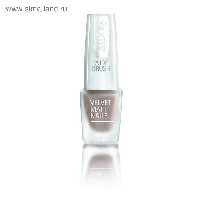 Лак для ногтей IsaDora Velvet Matt, тон 827, 6 мл
