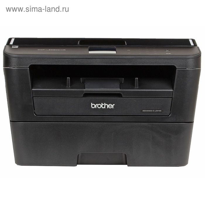 МФУ, лазерная черно-белая печать Brother DCP-L2560DWR, А4, Duplex, LAN, WiFi