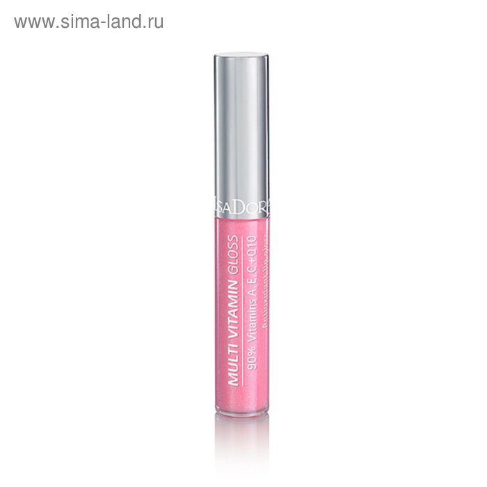 Блеск для губ IsaDora Multi Vitamin, мультивитаминный, тон 39, 7 мл