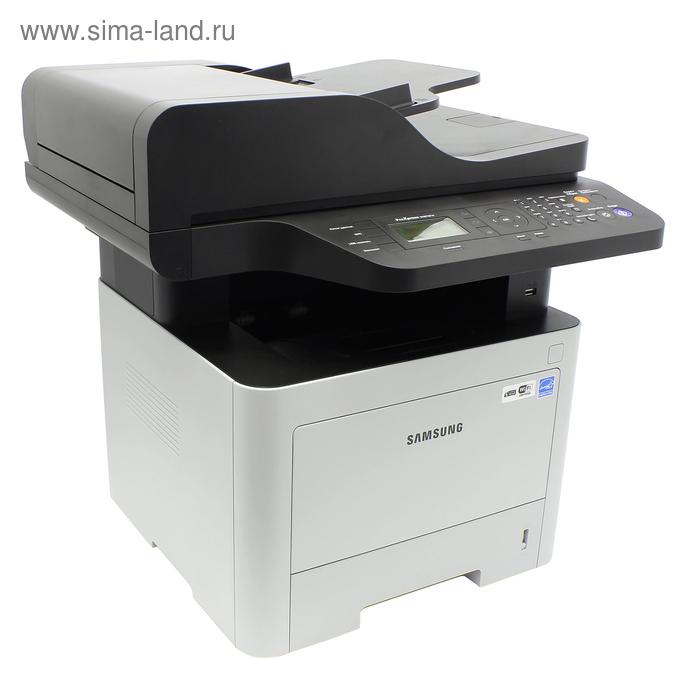 МФУ, лазерная черно-белая печать Samsung SL-M3870FW, А4, Duplex, LAN, WiFi