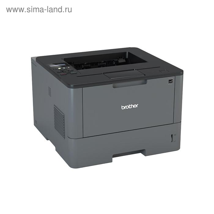 Принтер лазерный черно-белый Brother HL-L5100DN, А4, Duplex, LAN