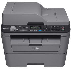 МФУ, лазерная черно-белая печать Brother MFC-L2700DWR, А4, Duplex, LAN, WiFi Ош