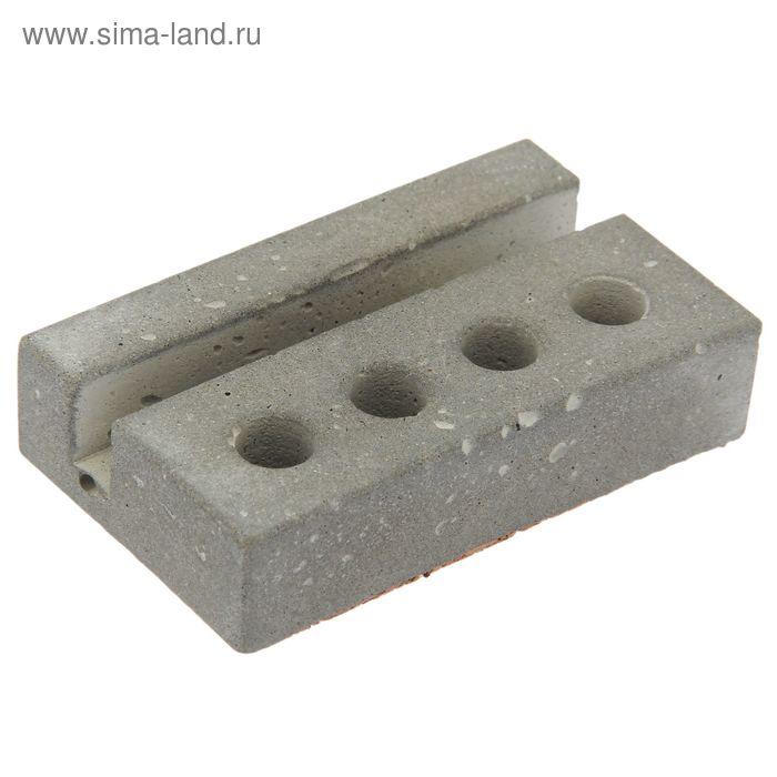 "Настольная визитница ""Пижон"", бетон"