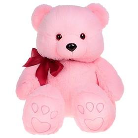 """Мягкая игрушка """"Медведь Эдди"""", цвет розовый"""