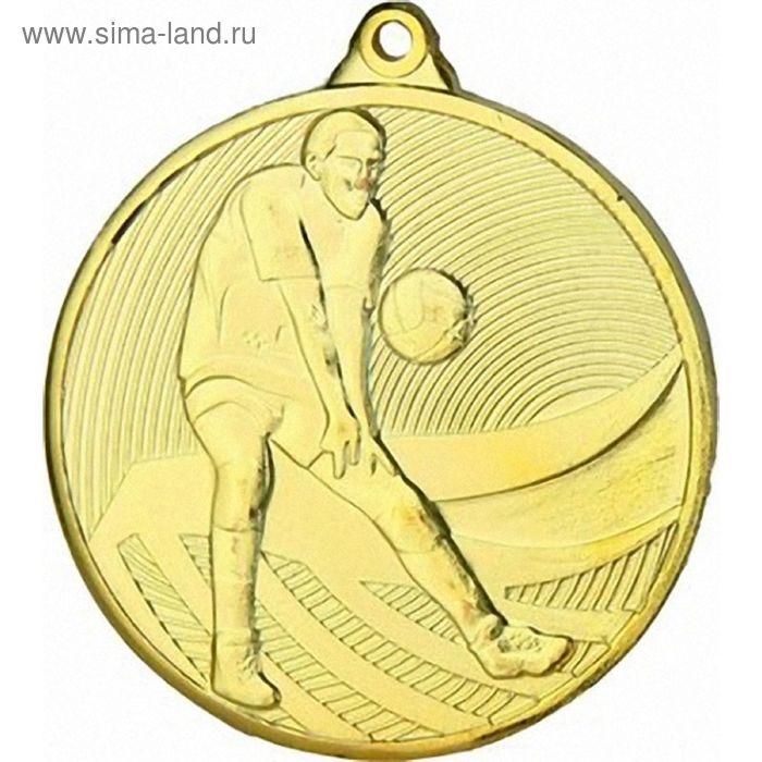 Медаль Волейбол MD14904/G, d=50 мм