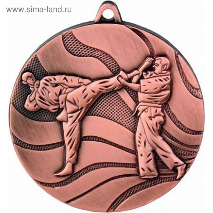 Медаль Карате MMC2550/B, d=50 мм
