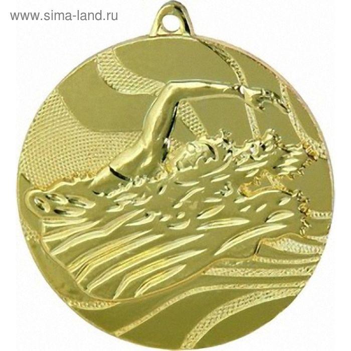 Медаль Плавание MMC2750/G, d=50 мм