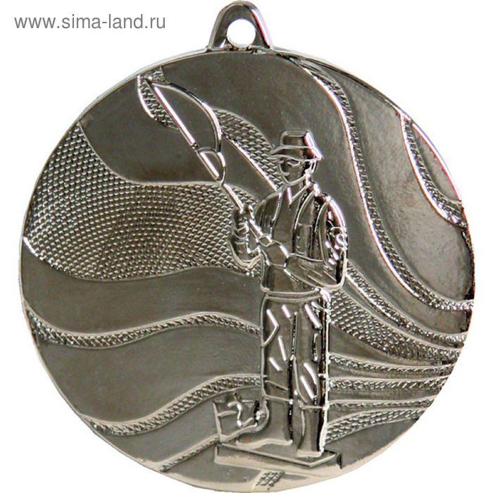 Медаль Рыболов MMC3850/S, d=50 мм