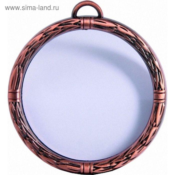 Медаль стеклянная с металлической рамкой MMAK1070/B, d=70 мм