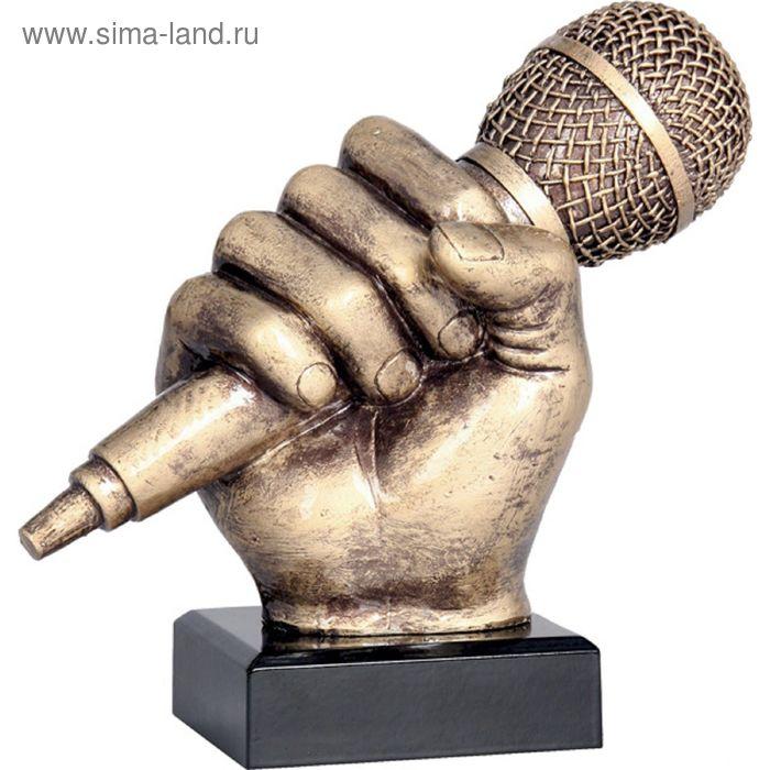 Фигурка литая Музыка RFST2074-17/BR, h=17 см