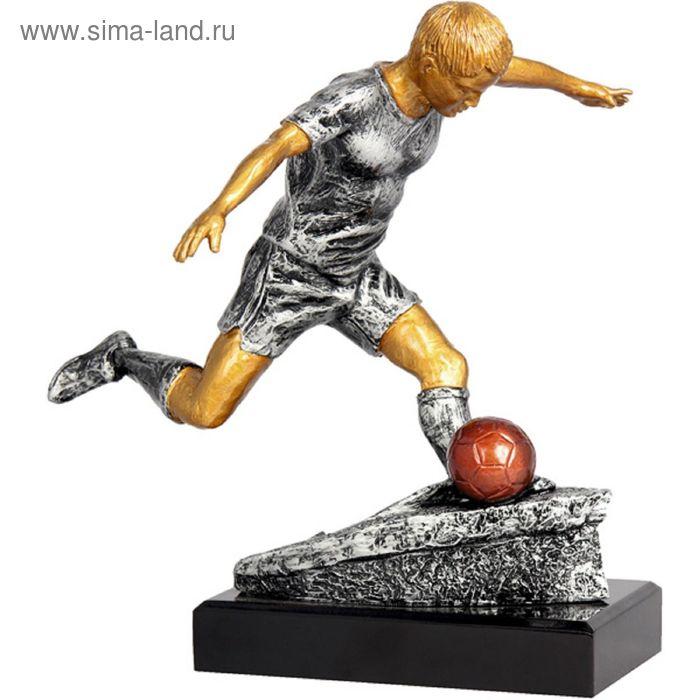 Фигурка литая Футбол RFST2054-28/GR, h=28 см