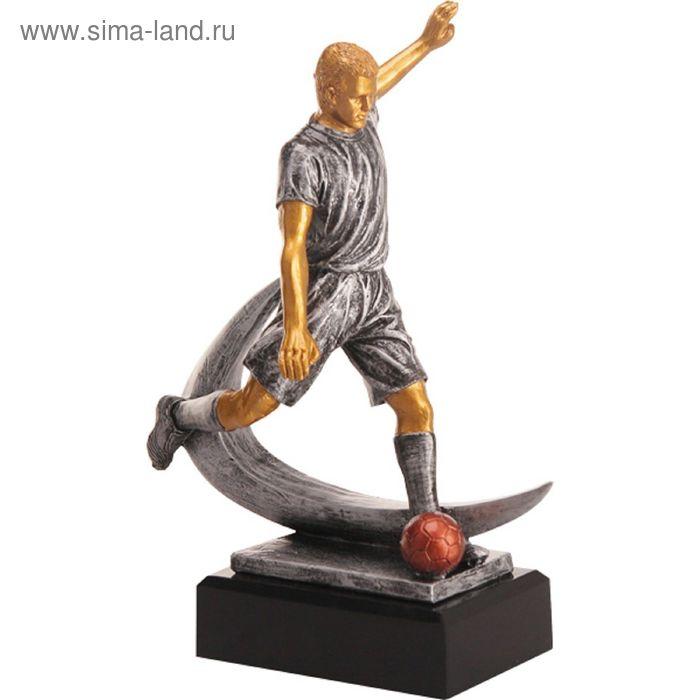 Фигурка литая Футбол RFST2086-23/GR, h=23 см