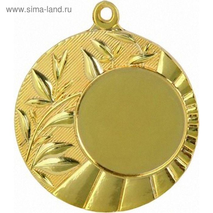 Медаль MD14045/G, d=45 мм, место под эмблему 25 мм