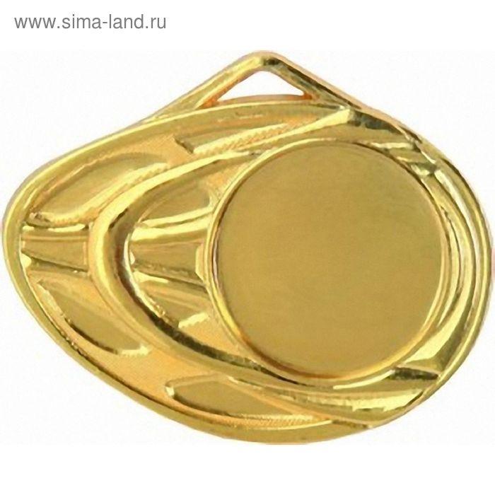 Медаль MD1450/G, d=50 мм, место под эмблему 25 мм