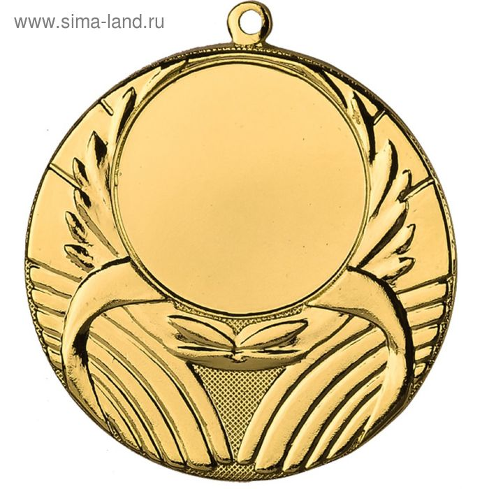 Медаль MMC5045/G, d=45 мм, место под эмблему 25 мм
