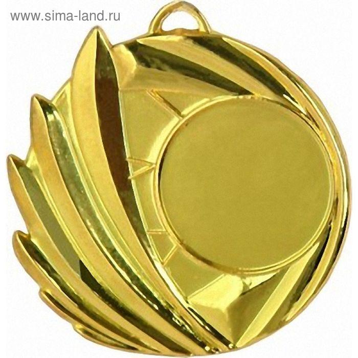 Медаль MD1650/G 55х45 мм, место под эмблему 25 мм