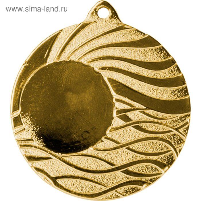 Медаль MMC5053/G, d=50 мм, место под эмблему 25 мм