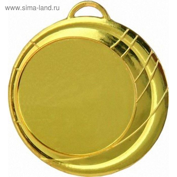 Медаль MD2070/G, d=70 мм, место под эмблему 50 мм