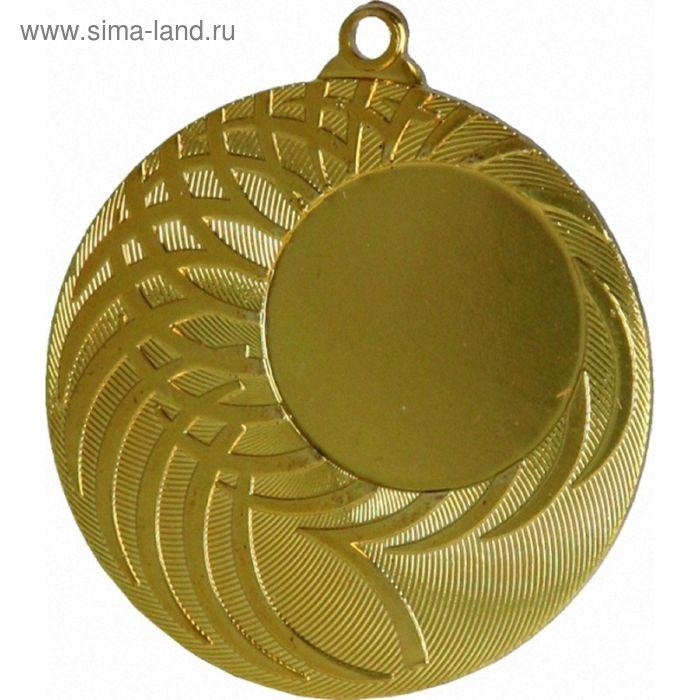 Медаль MMC9050/G, d=50 мм, место под эмблему 25 мм