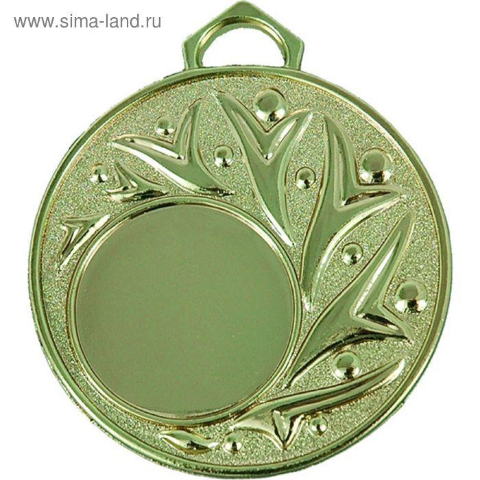 Медаль MD88/G, d=50 мм, место под эмблему 25 мм