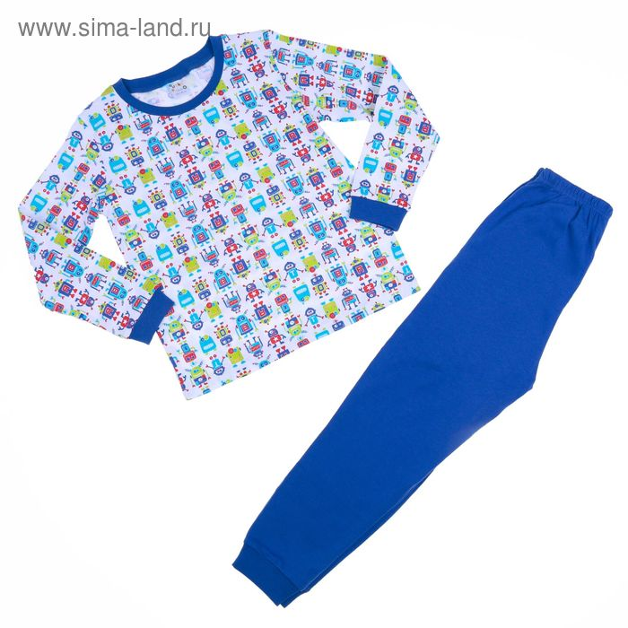 Пижама для мальчика AZ- 305, рост 122-128 (7лет), цвета МИКС