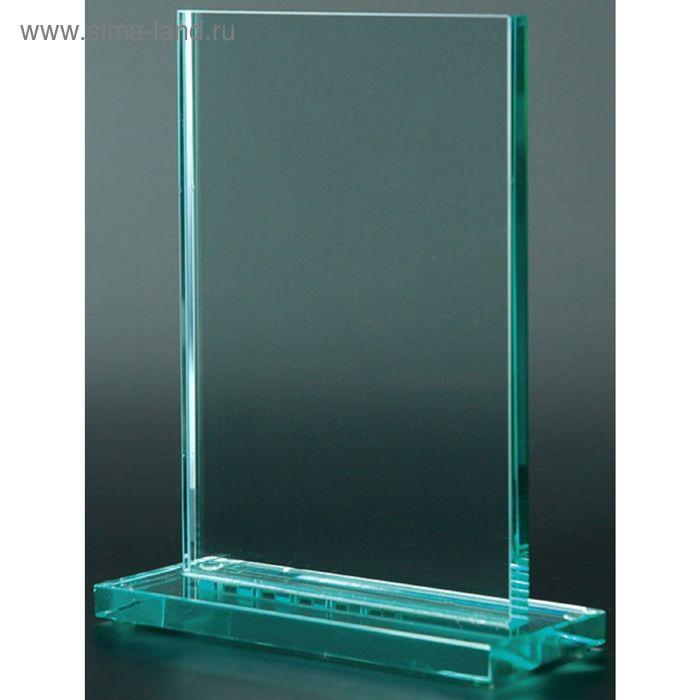 Награда стеклянная 80031, 150х100х10 мм