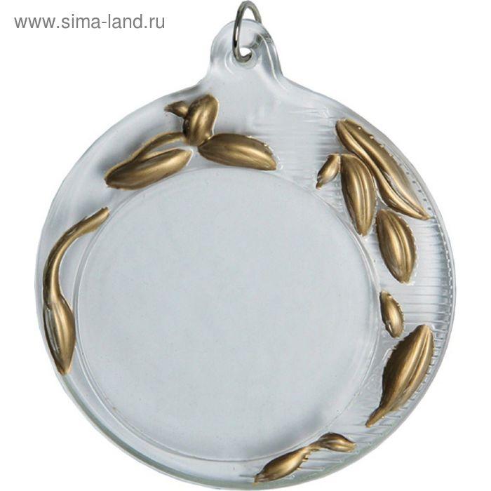 Медаль хрустальная GM2070/B, d=70 мм, место под эмблему 50 мм