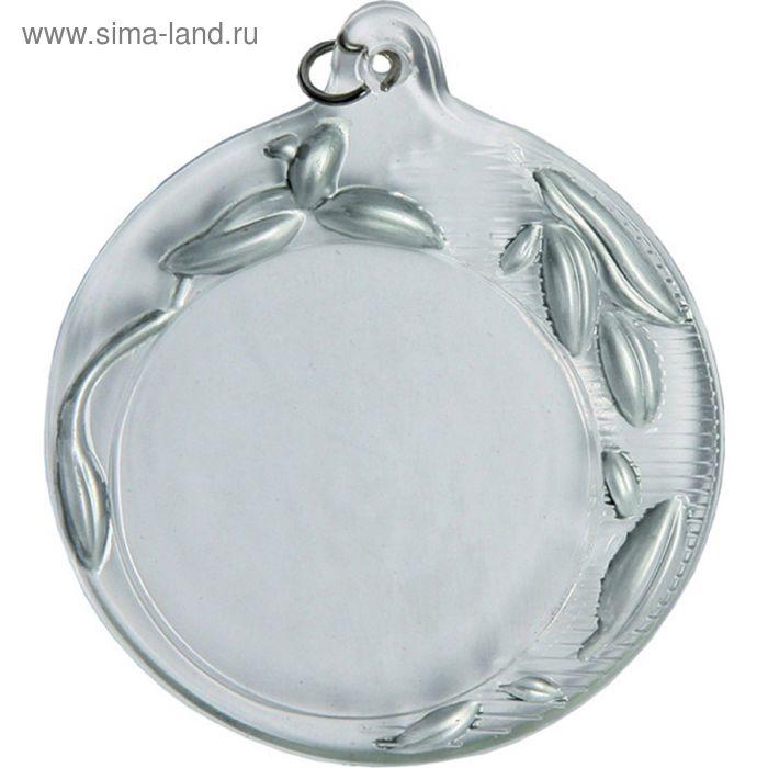 Медаль хрустальная GM2070/S, d=70 мм, место под эмблему 50 мм