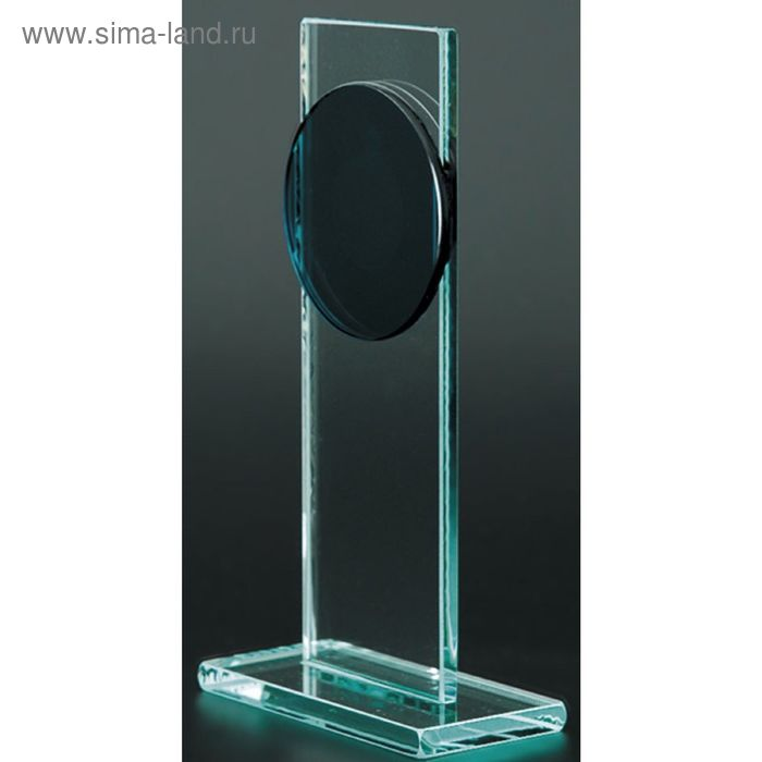 Награда стеклянная h=18 см, M47C