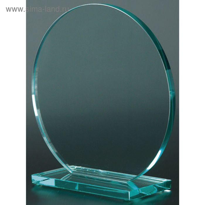 Награда стеклянная 195х195х10 мм, 80023