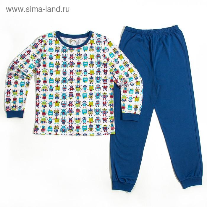 Пижама для мальчика AZ- 301, рост 110-116 (5 лет), цвета МИКС
