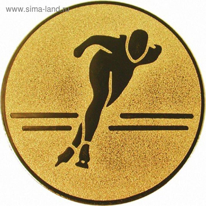 Жетон Конькобежный спорт d=50 мм, A107