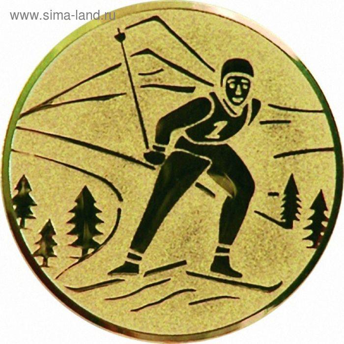 Жетон Лыжный спорт d=50 мм, A94/G