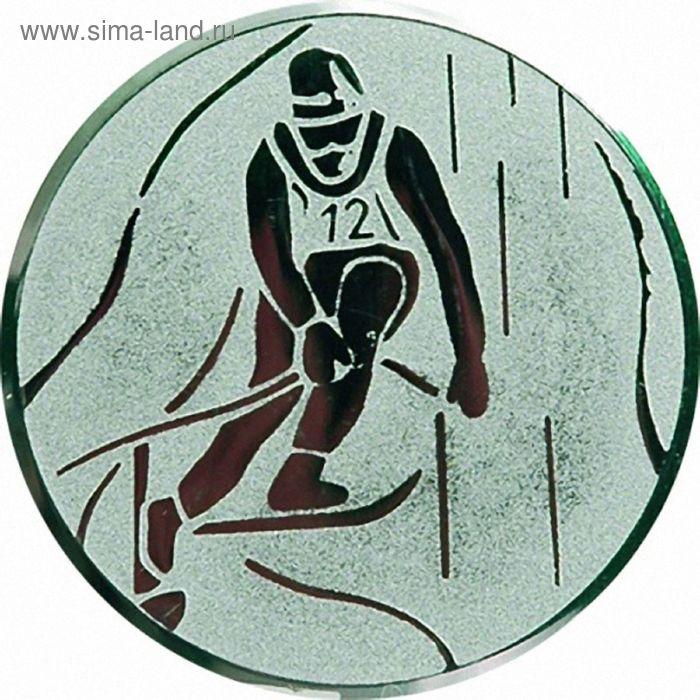 Жетон Горно-лыжный спорт d=50 мм, A93/S
