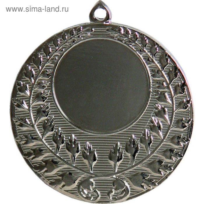 Медаль MMC4150/S, d=50 мм, место под эмблему 25 мм