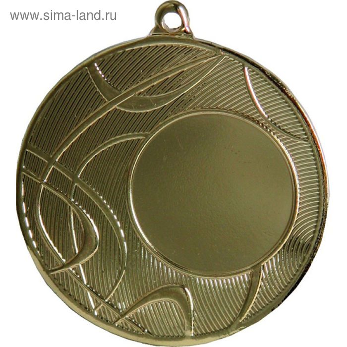 Медаль MMC4450/G, d=50 мм, место под эмблему 25 мм