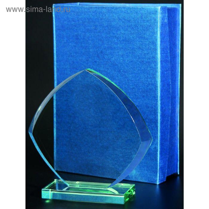 Награда стеклянная h=220 мм, футляр в комплекте G032A