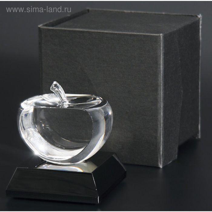 Награда хрустальная 100х80 мм, футляр в комплекте T030
