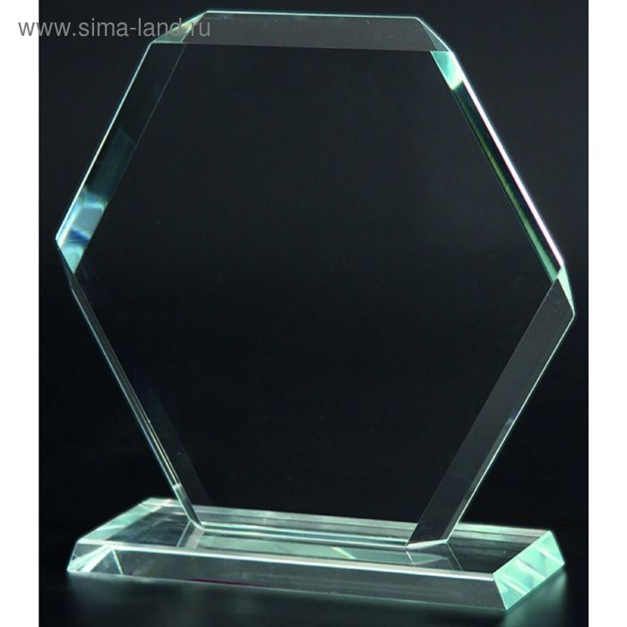 Награда стеклянная 230*230 мм, M58A/FP
