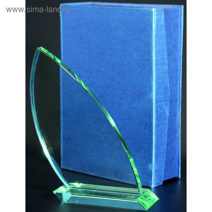 Награда стеклянная h=250 мм, футляр в комплекте G031A