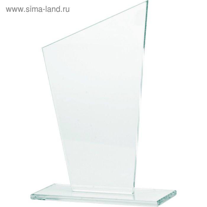 Награда стеклянная h=25 см, M73A