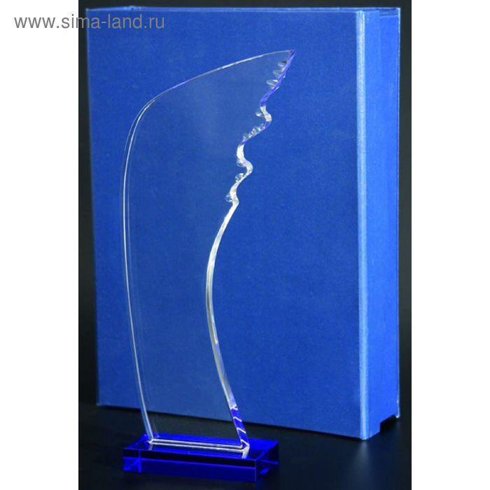 Награда стеклянная h=300 мм, футляр в комплекте GB013C