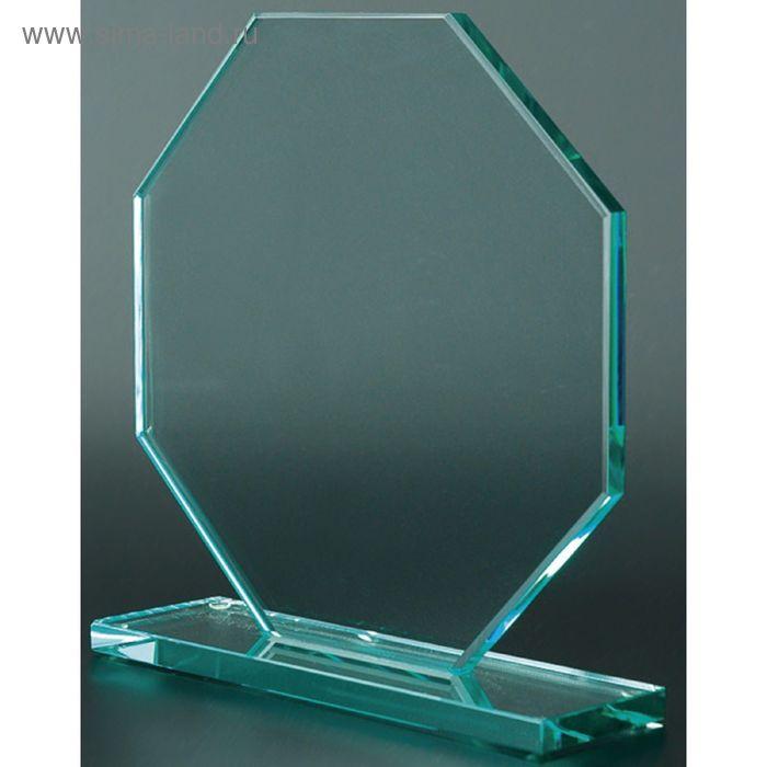 Награда стеклянная 80011, 100х100х10 мм