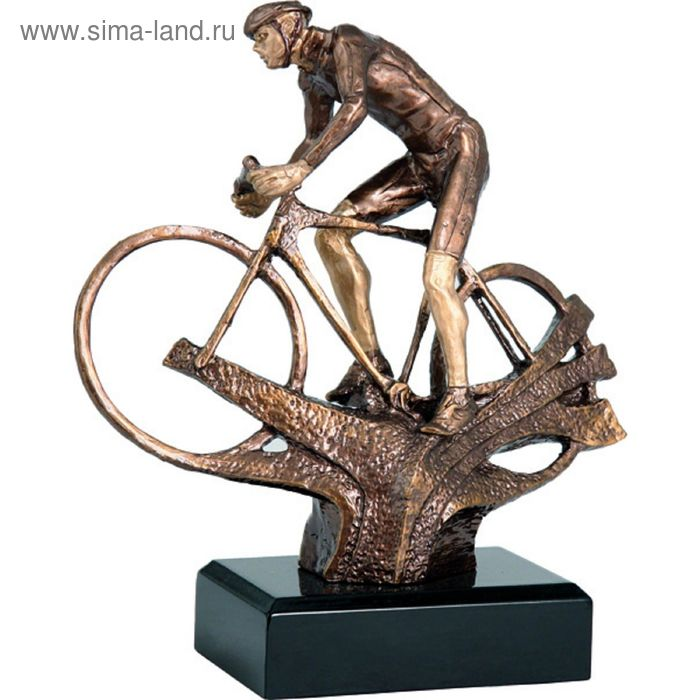 Фигурка литая Велоспорт RTYR3607/BR, h=21 см