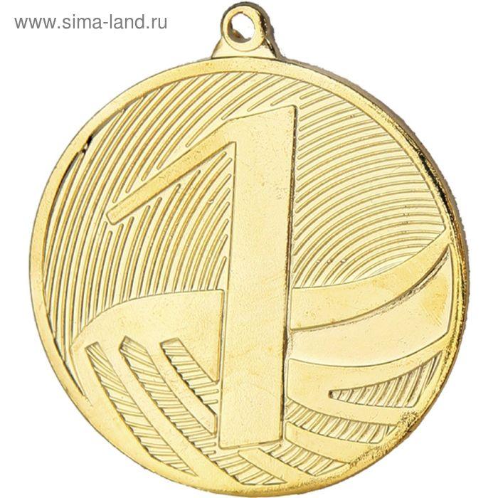 Медаль 1 место MD1291/G, d=50 мм, тощина 2.5 мм