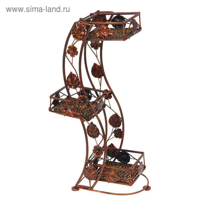 "Подставка для цветов ""Волна"" 3 яруса"
