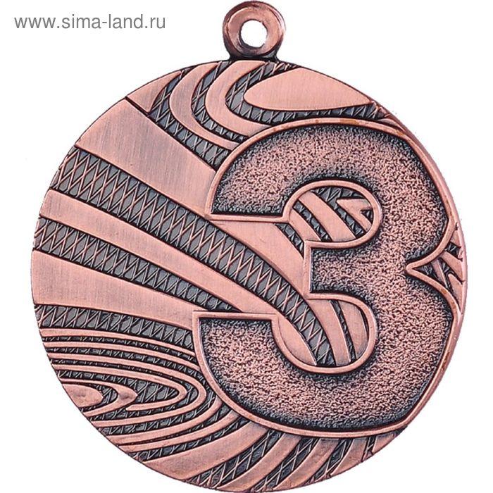 Медаль 3 место MMC6040/B, d=40 мм, толщина 2 мм